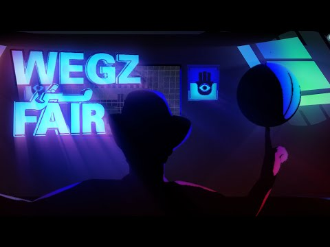 Wegz - Msh Fair (Official Lyric Video) (Prod. Rashed) | ويجز - مش فير - Wegz ويجز