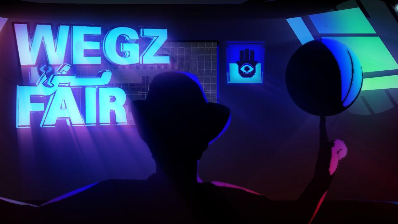 Wegz - Msh Fair (Official Lyric Video) (Prod. Rashed)  | ويجز - مش فير