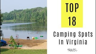 Amazing Camping Spots In Virginia. TOP 18