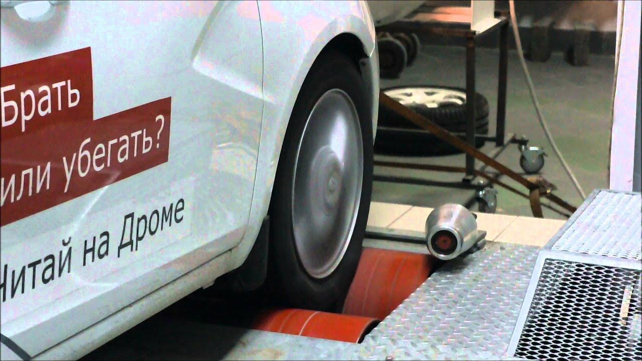 Lada Vesta 1.6: замеряем реальную мощность двигателя на диностенде