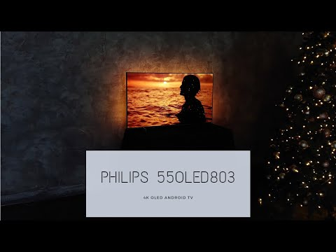 Обзор Philips 55OLED803. 55-дюймовый флагман с 4K и OLED-матрицей.
