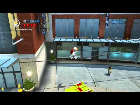 LEGO City Undercover - Secret Mario Super Stars - All 5 Locations