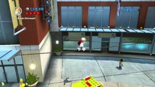 Lego City Undercover - Secret Mario Super Stars - All 5 Locations