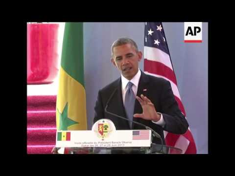 4:3 Obama clashes with African host over gay rights; comments on Snowden, Mandela, Supreme Court rul