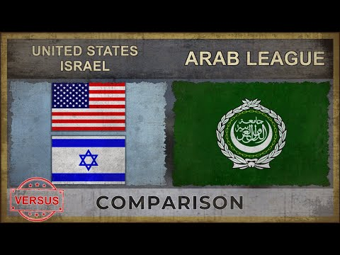 UNITED STATES, ISRAEL vs ARAB LEAGUE | Military Power Comparison (2019)