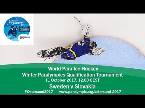 Sweden v Slovakia | PyeongChang 2018 Qualification Tournament | Ostersund