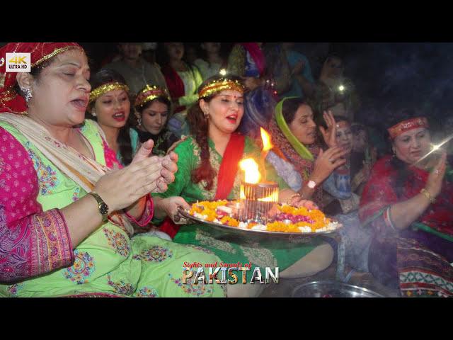 Diwali Celebration in Pakistan Swaminarayan Temple Karachi