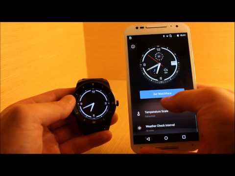 Android Wear Watch Face: Ticker