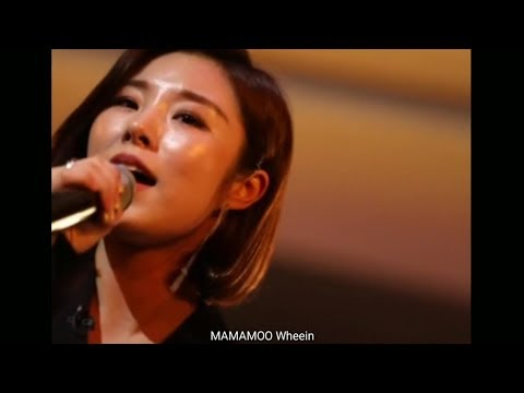 MAMAMOO Wheein singing in JYP Party People not published