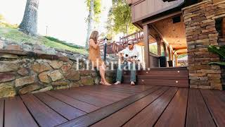 Relax Entertain Enjoy with TAMKO's Envision Decking