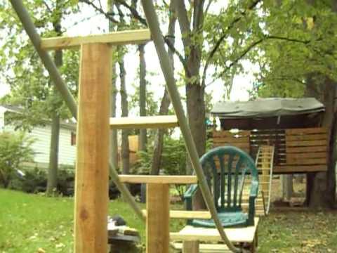 Backyard Homemade PVC Roller Coaster Thrillium- Offride ...