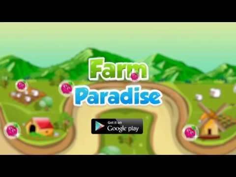 Farm Paradise - Official Android Game Trailer HD