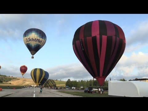 Italie: les montgolfières dans le ciel de Ombrie