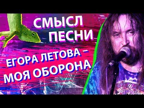 Смысл песни Егор Летова - Моя Оборона
