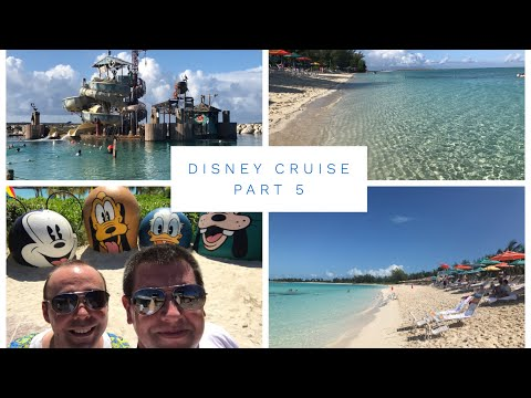 Disney Cruise Vlog - October 2017 - Part 5 - Castaway Cay, Pelican Plunge and Serenity Bay