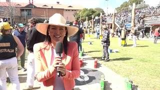 2019 Royal Show TV - Woodchopping Father & Son Relay, Tree Felling