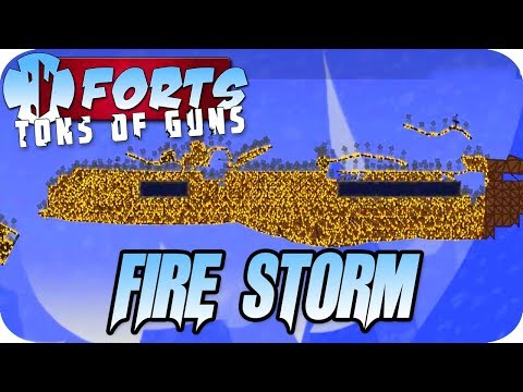 EVERYTHING IS ON FIRE Forts Multiplayer Gameplay