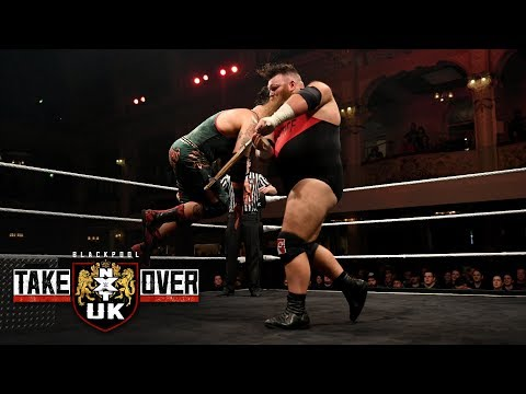 Dave Mastiff batters Eddie Dennis with a Kendo stick: NXT UK TakeOver: Blackpool (WWE Network)