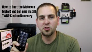 How to Root and install TWRP Recovery on the Motorola Moto G 2nd gen