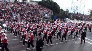 University of Wisconsin UW Badger Marching Band 2013 Pasadena
