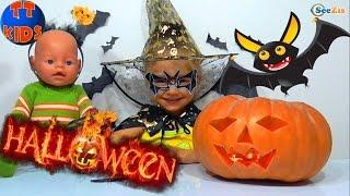 ✔ Кукла Беби Борн и Ярослава отмечают Хэллоуин | Baby Born Doll with Yaroslava celebrating Halloween