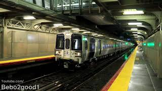 LIRR M9 Test Train with Propulsion Activated + Solo Run (Jamaica, NY RR)