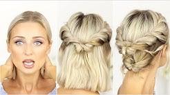 Plattes Haar - Alltagsfrisuren und Tipps | OlesjasWelt