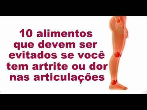 Se você sofre com artrite ou dores nas articulações, precisa evitar estes 10 alimentos!