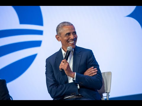 Town Hall with President Barack Obama and Steph Curry