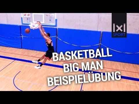 Basketball Big Man - Skills & Drills - Übungen für Center im Low Post