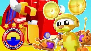 Animal Mechanicals Full Episodes | Episode 305: Mechana Buffalo Bus | Cartoon For Kids HD