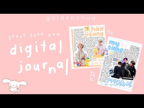 start your own digital journal | w/free apps ! 🍓 goldenchuu