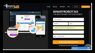 Binary Robot 365 Live Review - Live Deposit & Trading - See The Proof