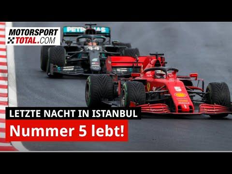 F1: Wie gut war Sebastian Vettel beim GP Türkei? #LetzteNacht Istanbul