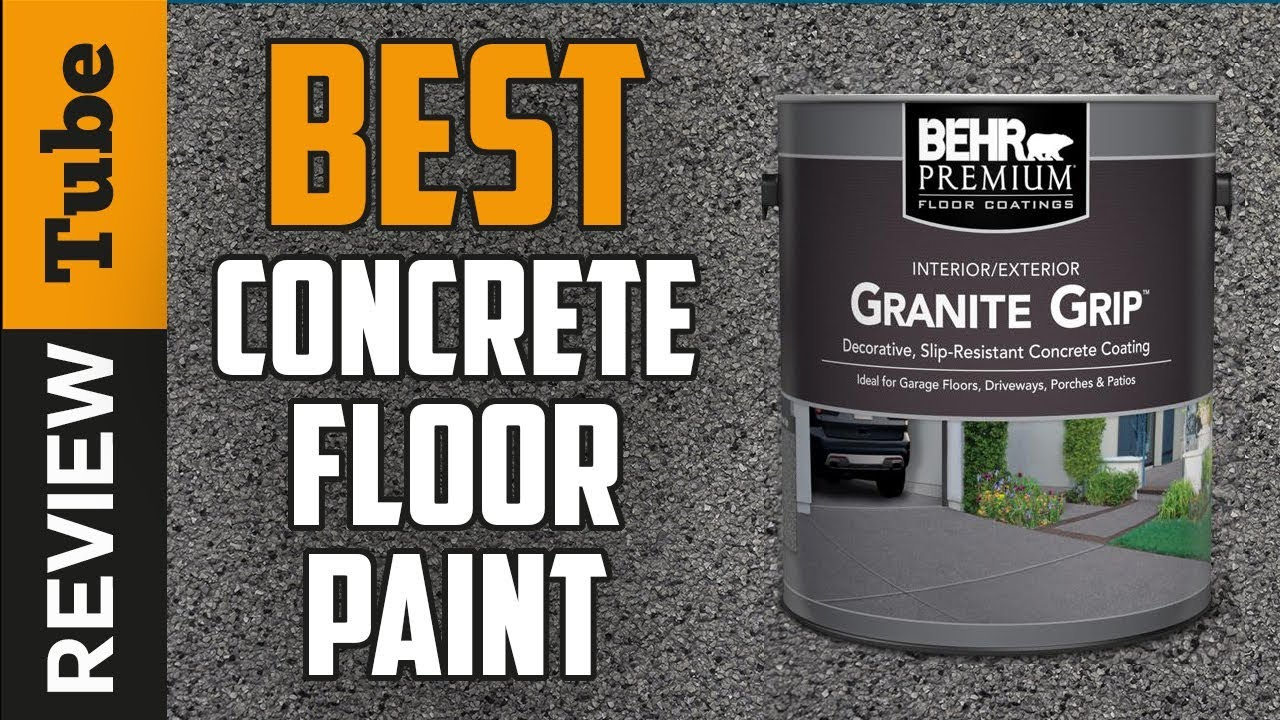 Concrete Floor Paint 2020