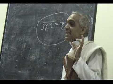 Vyakarana Kakshya (Sanskrit Grammar Classes) LSK-1 9.1
