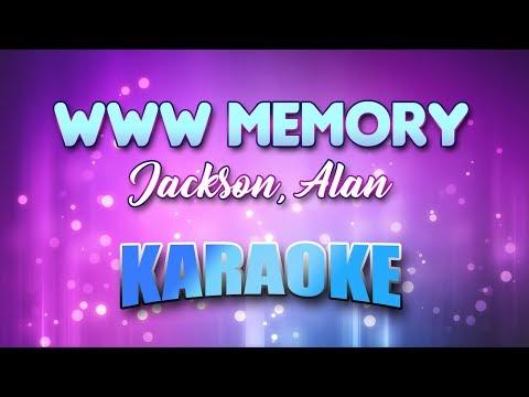 Jackson, Alan - Www Memory (Karaoke & Lyrics)
