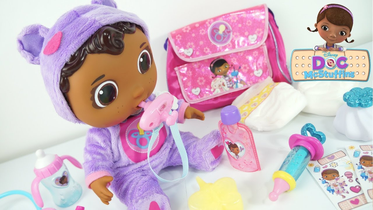 Doc Mcstuffins Get Better Baby Cece Check Up Doll Disney