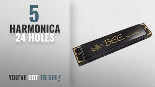 39f8770383c Top 10 Harmonica 24 Holes  2018   Bee bee Mouth Organ with 48 holes