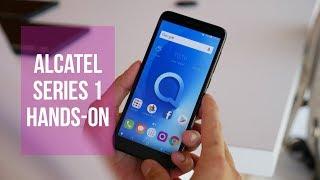 Alcatel 1 Series hands-on