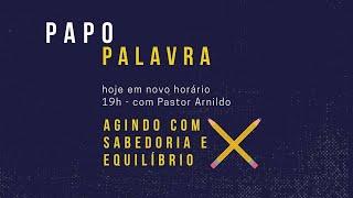 IP Central de Itapeva - Papo Palavra com Rev. Arnildo Klumb 09/10/2020