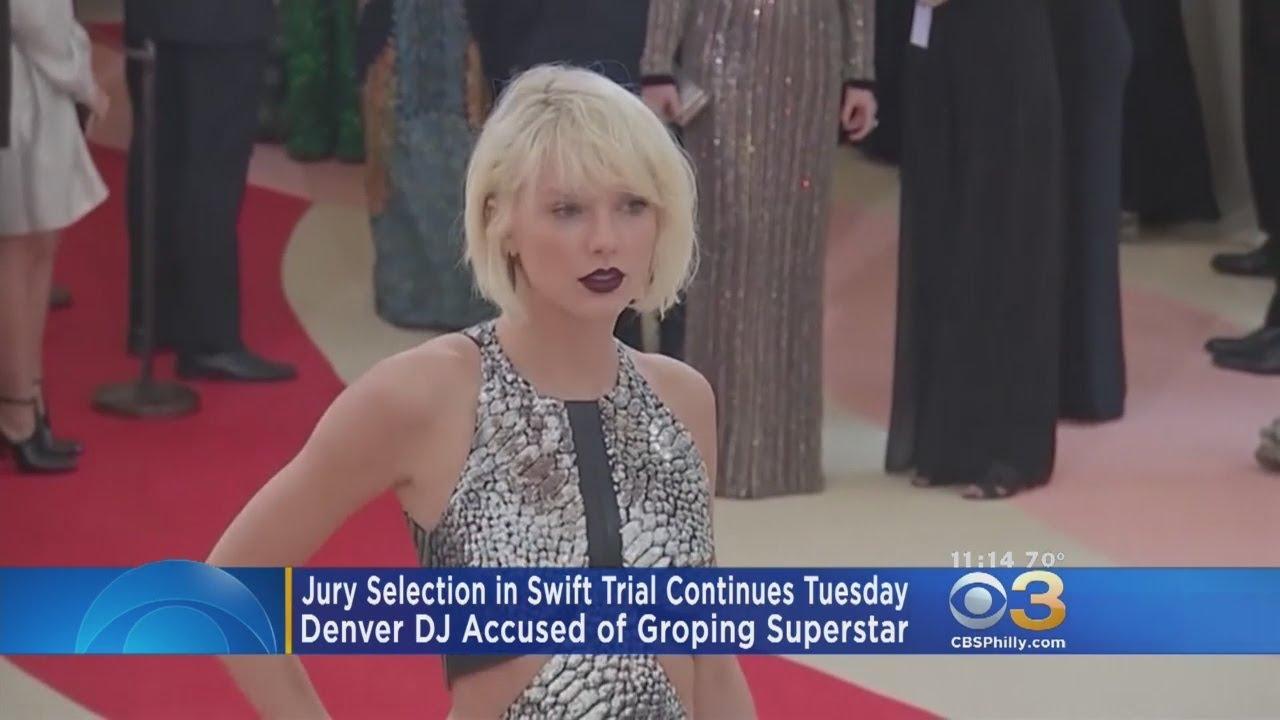 Jury selected, trial underway in Taylor Swift's groping case