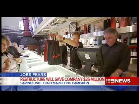 Treasury Wines | 9 News Adelaide