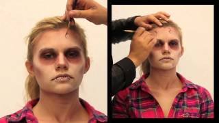 Makeup Tutorial    Inked Magazine  Zombie Halloween Thumbnail