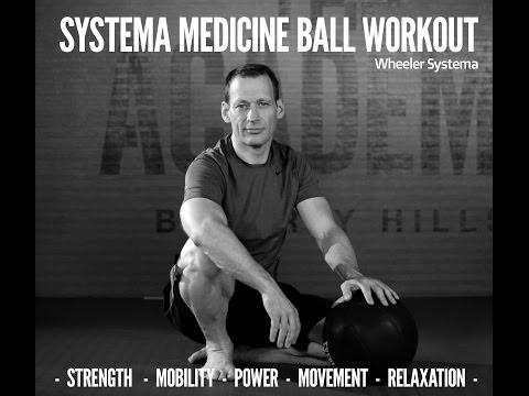 Systema Medicine Ball Workout - Martin Wheeler