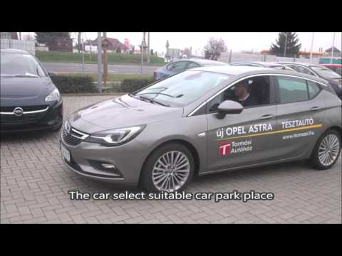 opel astra k 2015 automatic parking system youtube. Black Bedroom Furniture Sets. Home Design Ideas