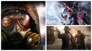 S.T.A.L.K.E.R 2 продолжают прятать. Новый патент для  PlayStation 5. Star Wars Jedi 2 в разработке