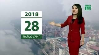VTC14 | Thời tiết 6h 13/02/2018 | Bắc bộ trưa chiều hửng nắng