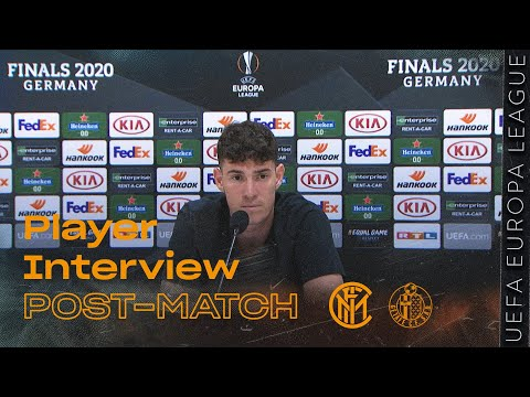INTER 2-0 GETAFE | ALESSANDRO BASTONI EXCLUSIVE INTERVIEW [SUB ENG]