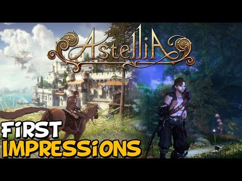 New MMORPG Astellia Online First Impressions